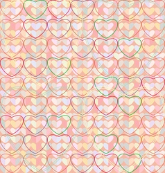 Texture Heart V vector image