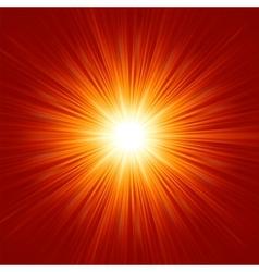 White bursting star vector