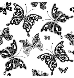 seamless graphic pattern vector image vector image
