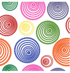 abstract seamless pattern of multicolored vector image