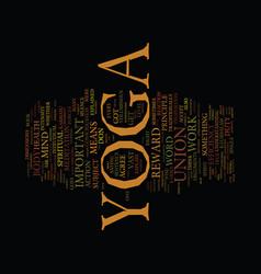 Best benefit yoga efficiency in work is vector
