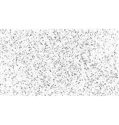 Black-white polka dot texture isolated on white vector