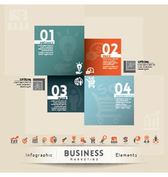 Business marketing concept graphic element vector