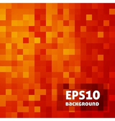 Mosaic background vector image
