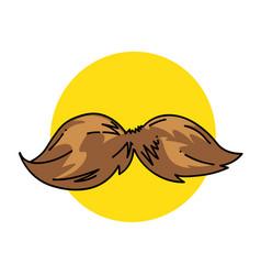 Mustache vector