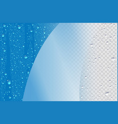 wet realistic background vector image