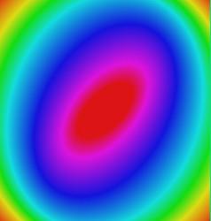 Multicolored gradient elliptical background vector image
