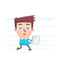 Can not live without gadgets vector image