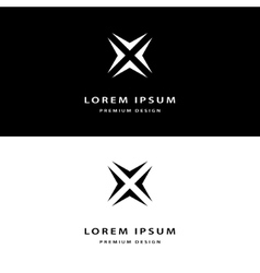 Creative icon monogram design elements vector image vector image