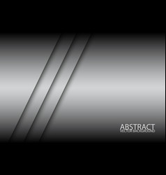 Abstract background with two grey stripes oblique vector