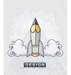 Creative design concept with vector image