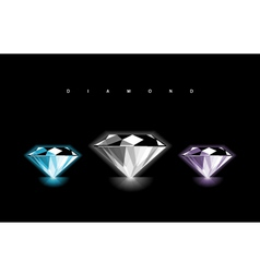 Diamond Design vector image vector image