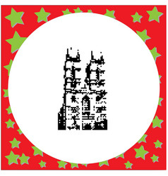 london westminster abbey st margaret church in vector image