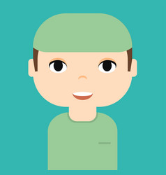 medical staff professional doctor and nurse vector image