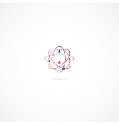 Network vector image