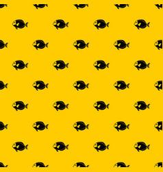 Surgeon fish pattern vector
