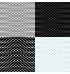 vintage geometric backgrounds seamless patterns vector image