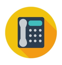 Office phone icon vector image