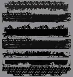 photographic film edges vector image