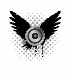 audio speaker vector image vector image