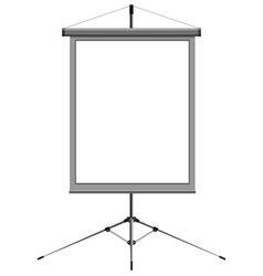 blank presentation vector image vector image