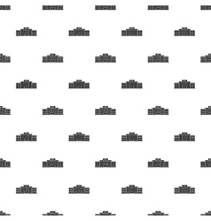 Airport building pattern simple style vector