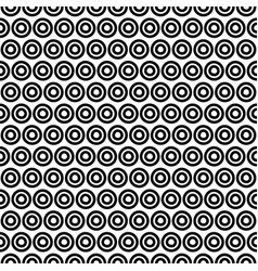 back and white pattern vector image