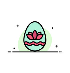 Easter egg egg holiday holidays business flat vector