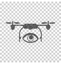 Eye Spy Drone Grainy Texture Icon vector