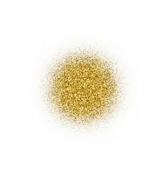 gold circular with bland shadows vector image