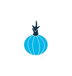 onion icon colored symbol premium quality vector image