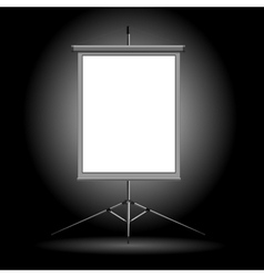 projection stand vector image