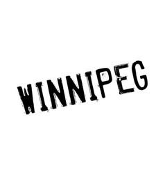 Winnipeg rubber stamp vector