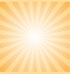 abstract light rays halftone background vector image