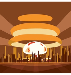 Atomic Nuclear vector image
