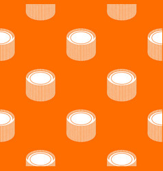 Building roll net pattern orange vector