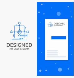 business logo for algorithm business foretelling vector image