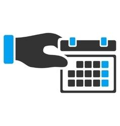 Calendar Properties Icon vector