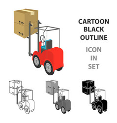 Cargo transportation by means of a loader vector