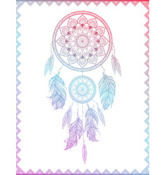 Dreamcatcher in gradient vector