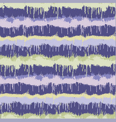 Dripping ink dyed stripe variegated background vector