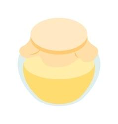 Honey bank isometric 3d icon vector