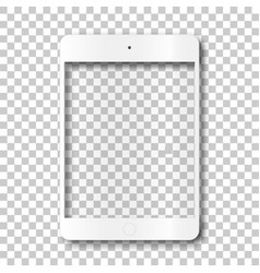 Touch tablet body without screen vector