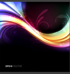 Colorful and vivid background vector image