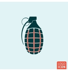 Grenade icon isolated vector image
