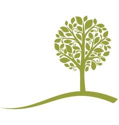 tree emblem vector image