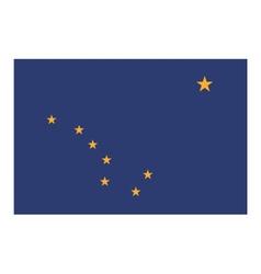 Alaska flag vector image