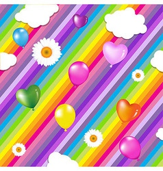 Colorful Birthday Design vector image