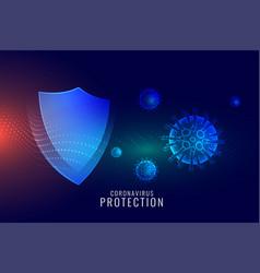 Coronavirus protection shield for good immune vector