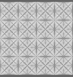 geometric lace pattern vector image
